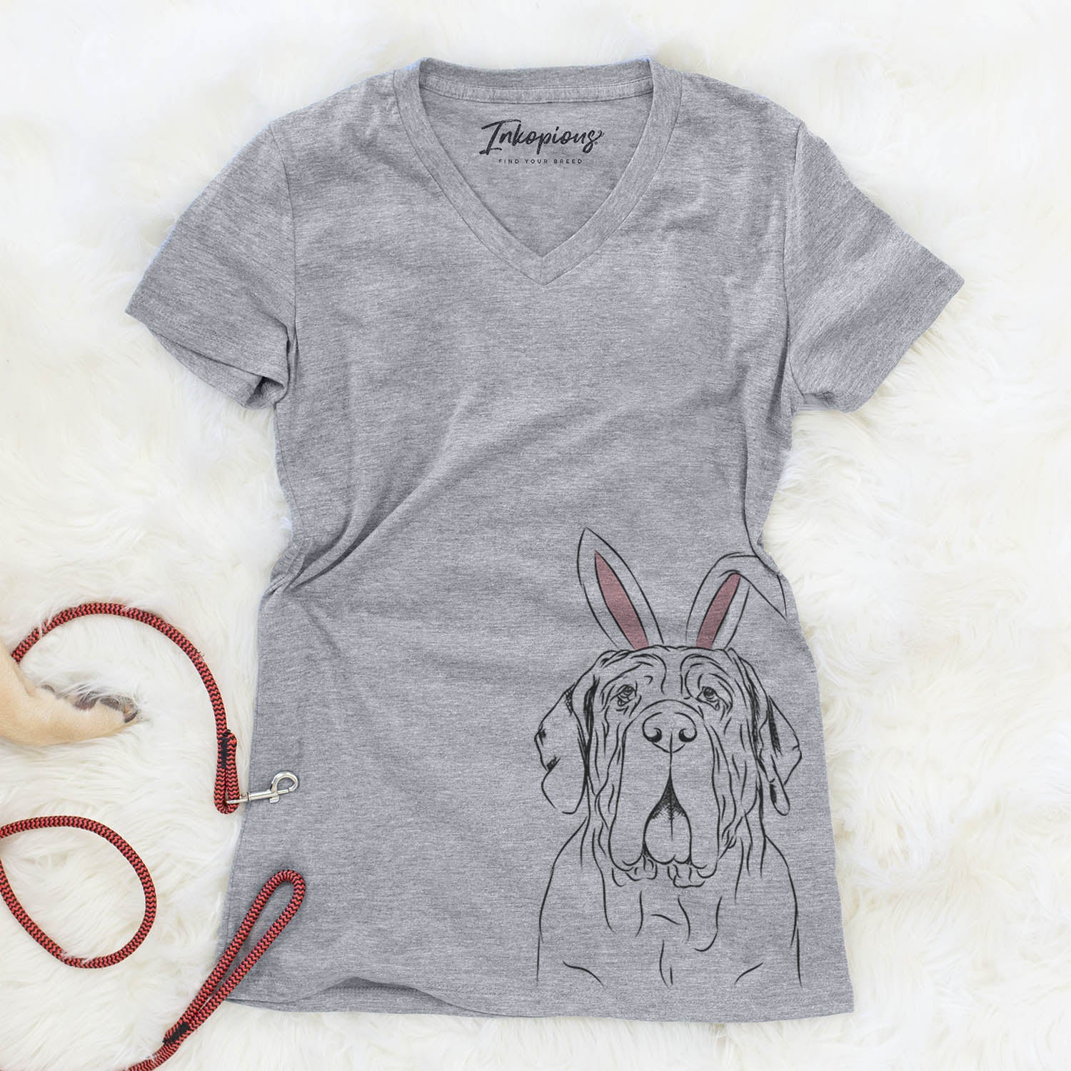 Dinah the Neapolitan Mastiff  - Easter Collection
