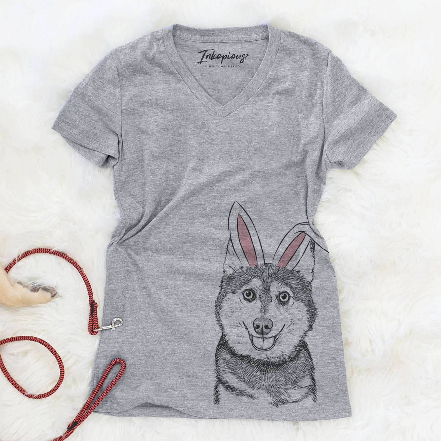 Tellie the Alaskan Klee Kai  - Easter Collection