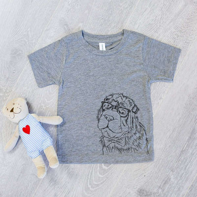 Einstein the Bear Coat Shar Pei - Kids/Youth/Toddler Shirt