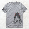 Aline the Irish Red and White Setter  - Firefighter Collection