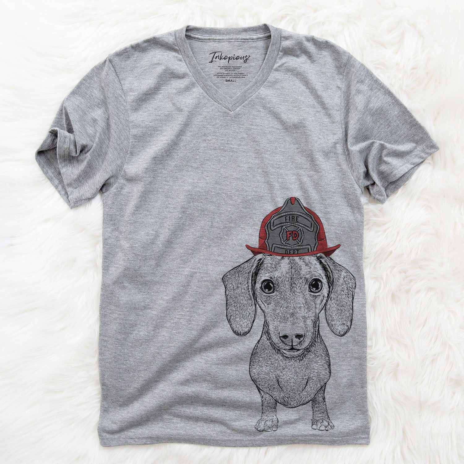 Ernie the Mini Dachshund  - Firefighter Collection