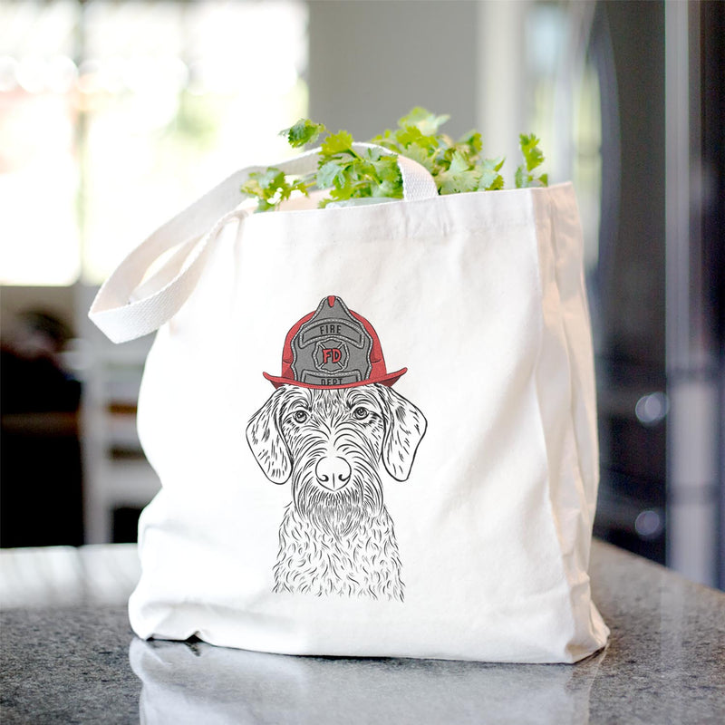 Gus the German Wirehaired Pointer - Tote Bag