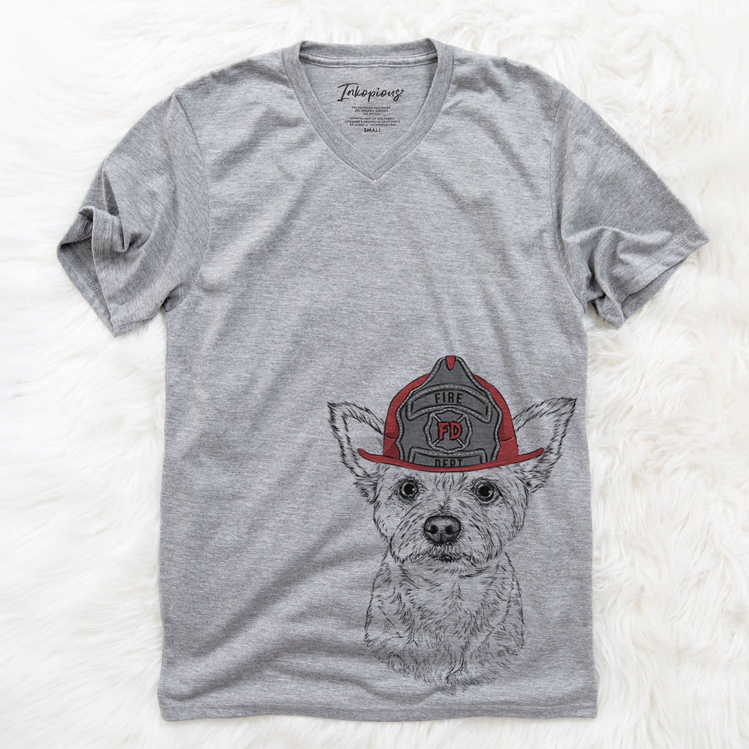 Mango the Mixed Breed  - Firefighter Collection