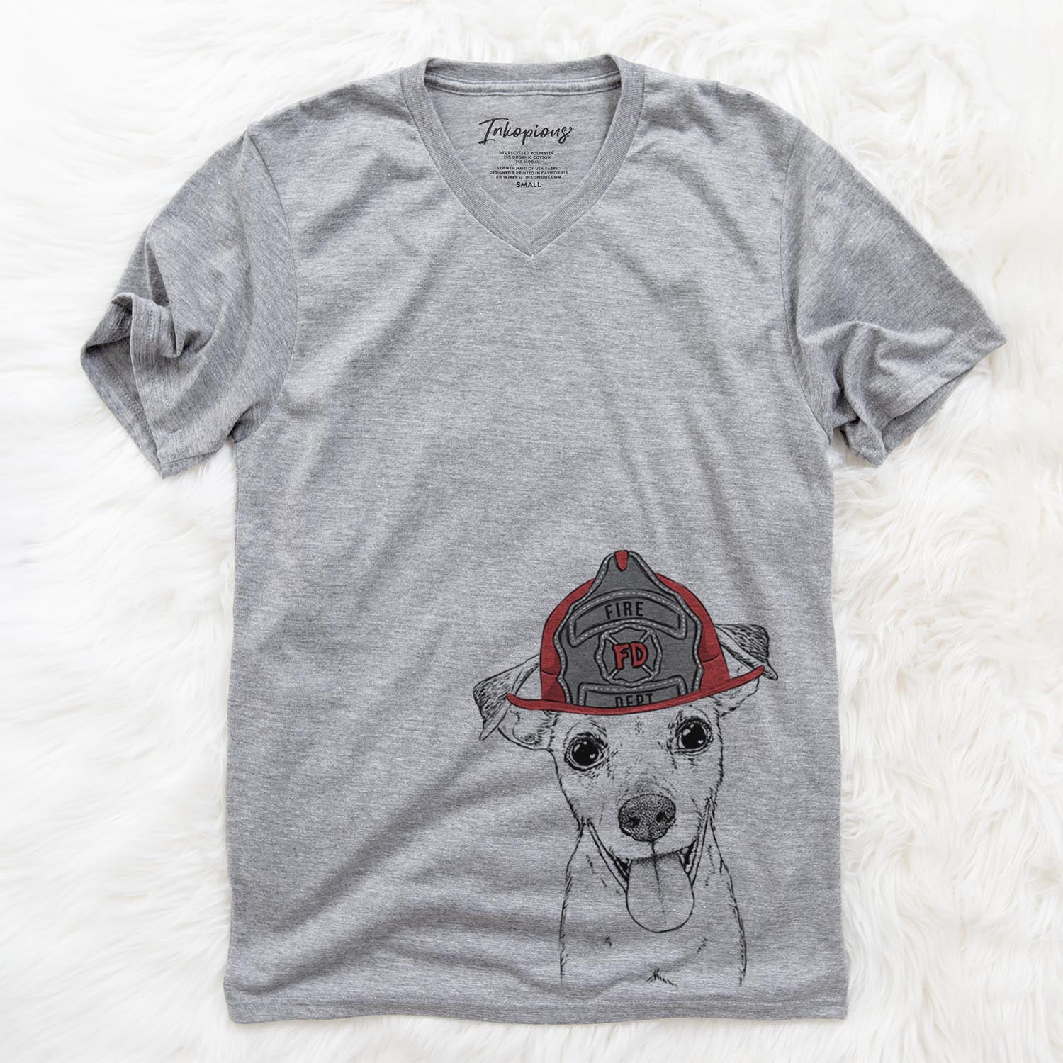 Tyler the Mixed Breed  - Firefighter Collection