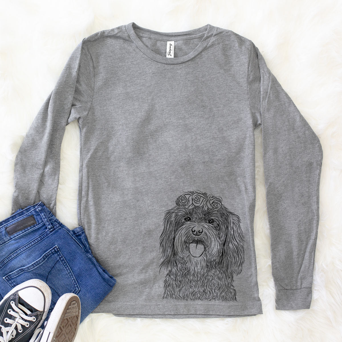 Sophie the Havanese - Long Sleeve Crewneck