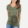 Sophie the Havanese - Women's Modern Fit V-neck Shirt