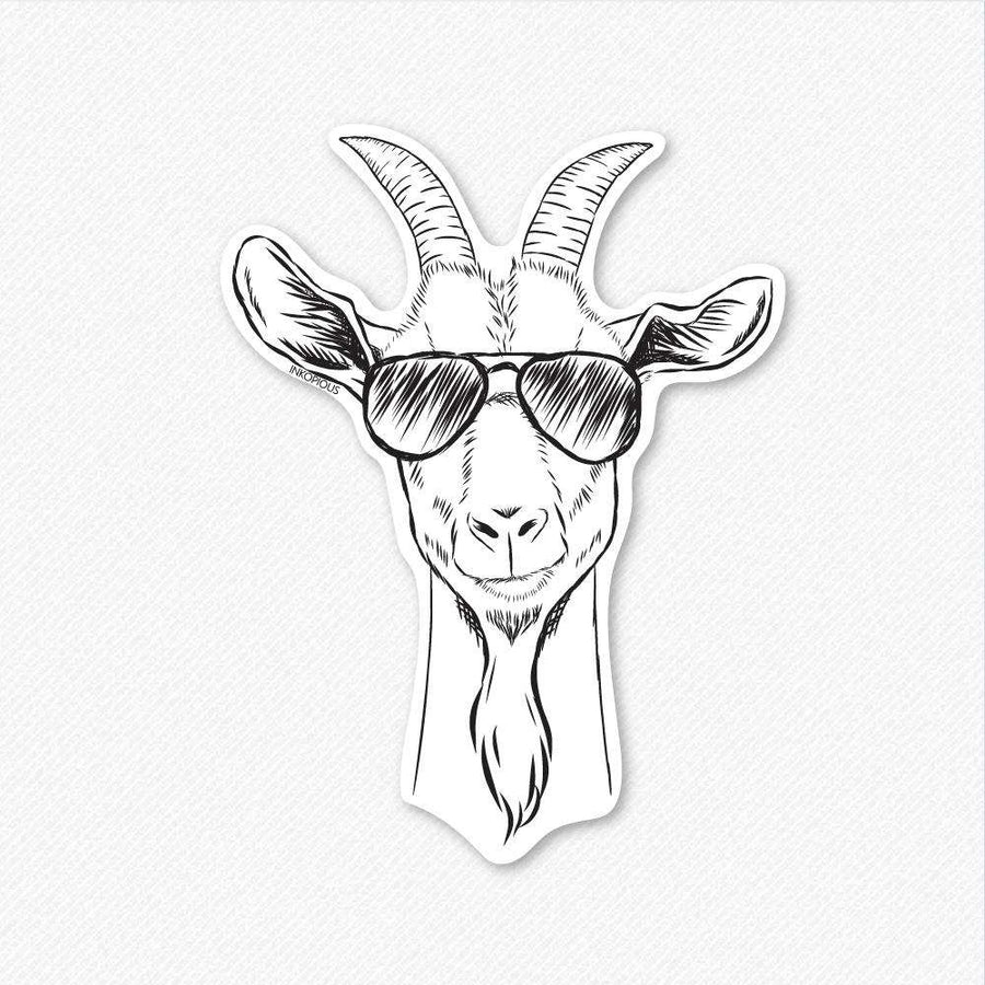 Gunnar the Goat - Decal Sticker