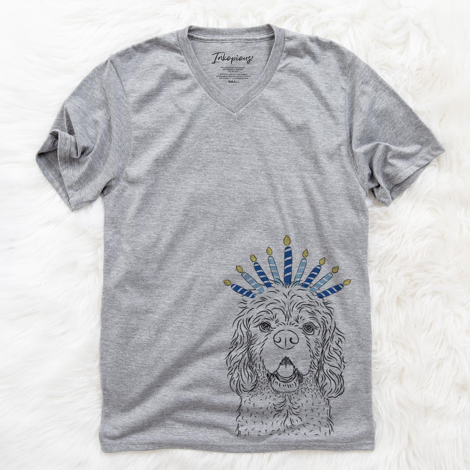 Casey the American Cocker Spaniel  - Hanukkah Collection