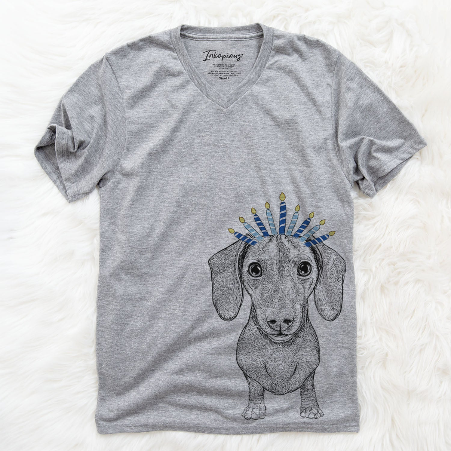 Ernie the Mini Dachshund  - Hanukkah Collection