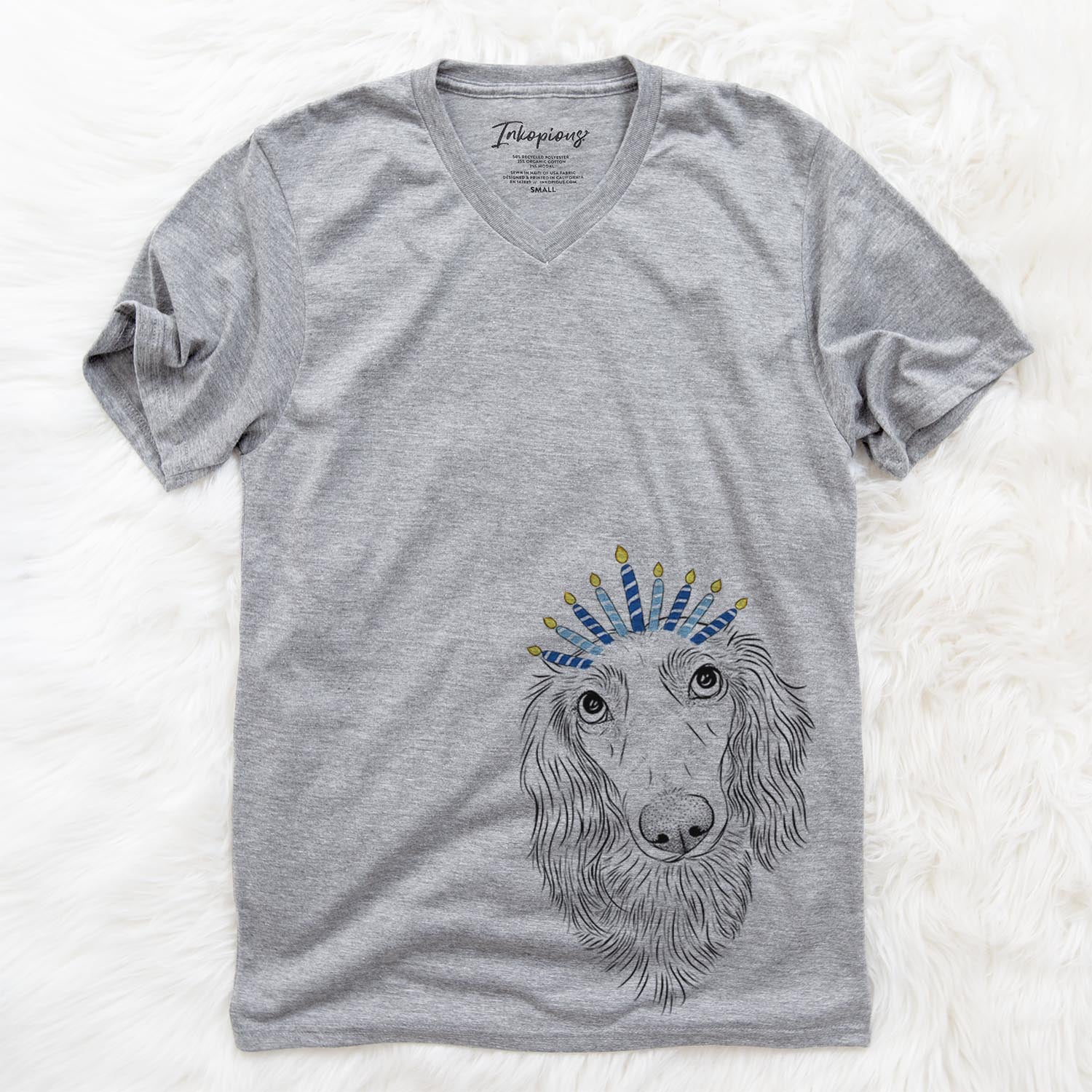 Mr. Rusty the Long Haired Dachshund  - Hanukkah Collection