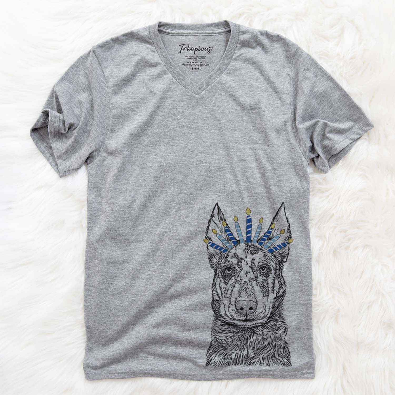 Riggs the Beauceron  - Hanukkah Collection