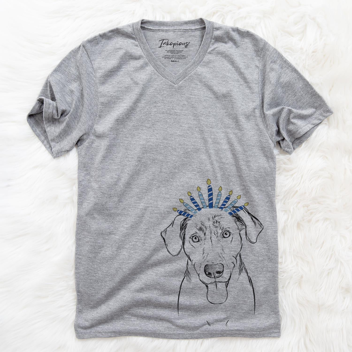 Scout Marie the Chocolate Lab  - Hanukkah Collection