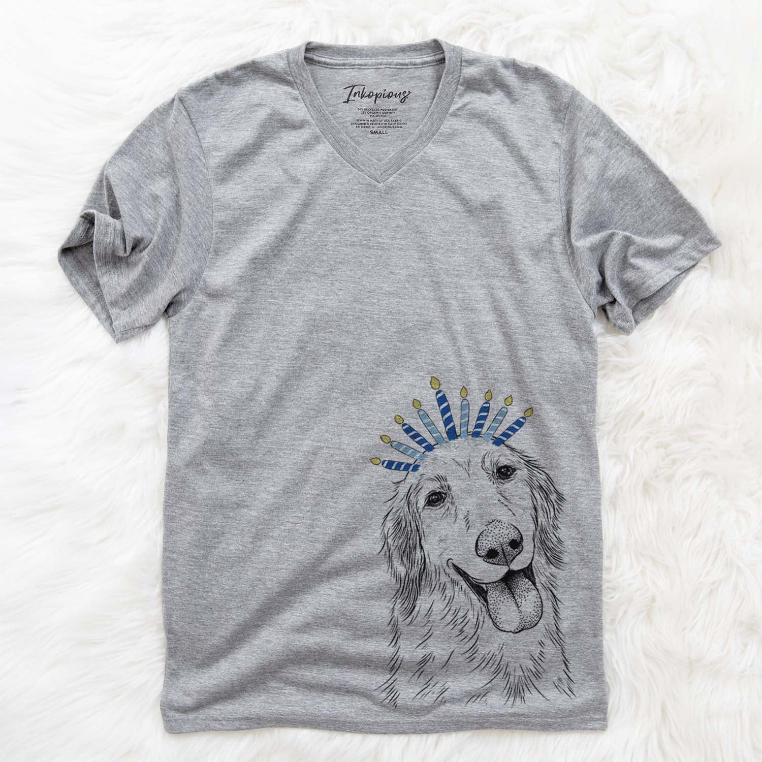 Shelby the Golden Retriever  - Hanukkah Collection