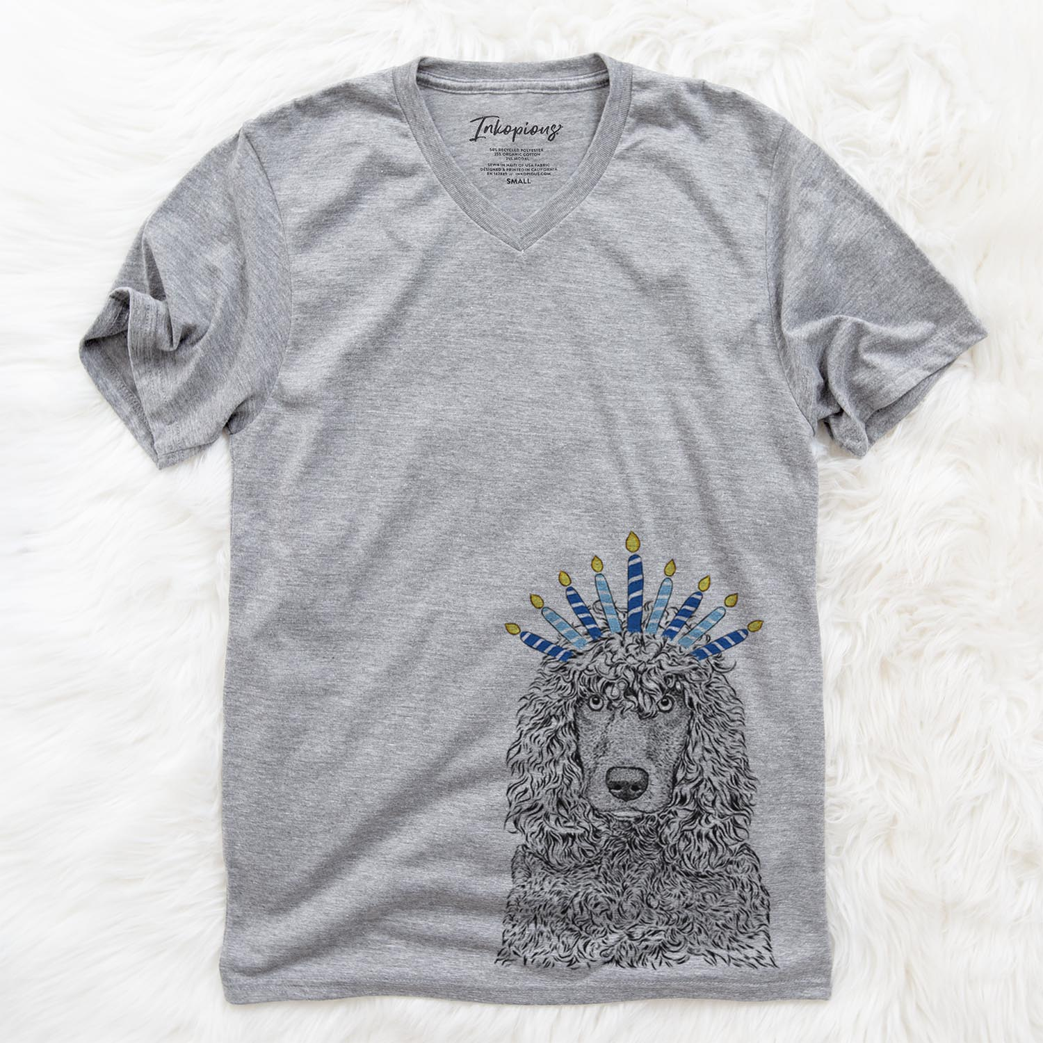 Shilo the Irish Water Spaniel  - Hanukkah Collection