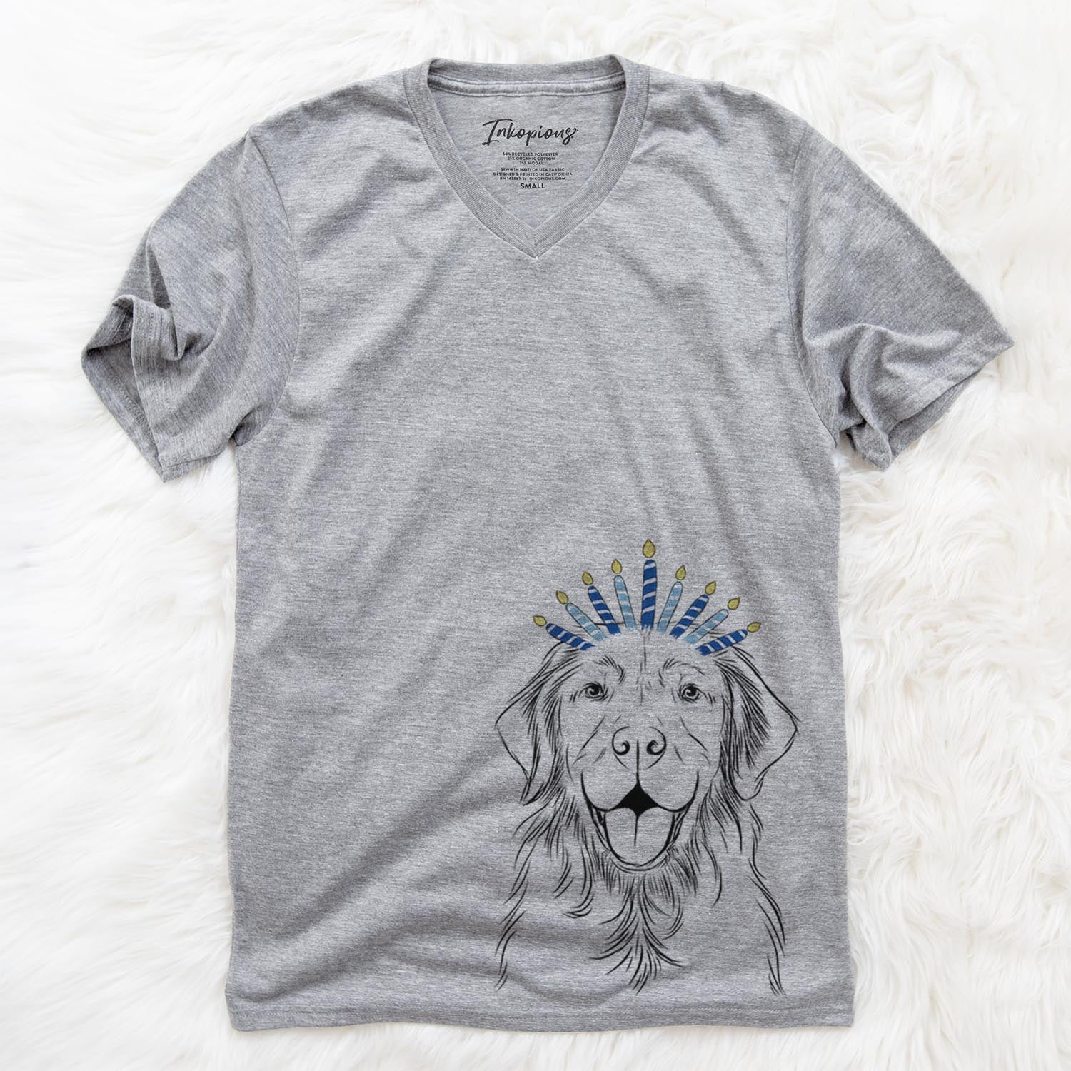 Sunny the Golden Retriever  - Hanukkah Collection