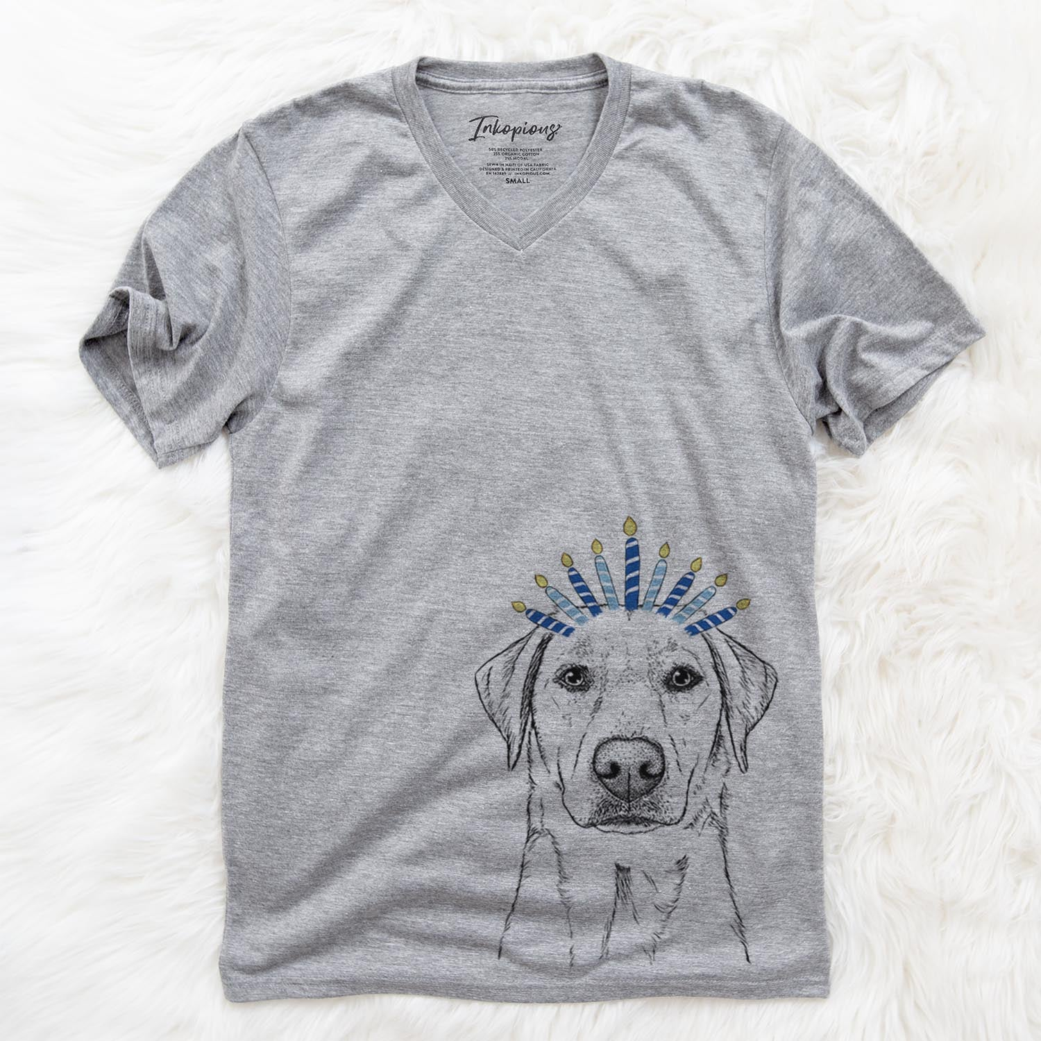 Zoe the Yellow Lab  - Hanukkah Collection