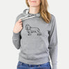 Halftone Cavalier King Charles Spaniel  - French Terry Hooded Sweatshirt