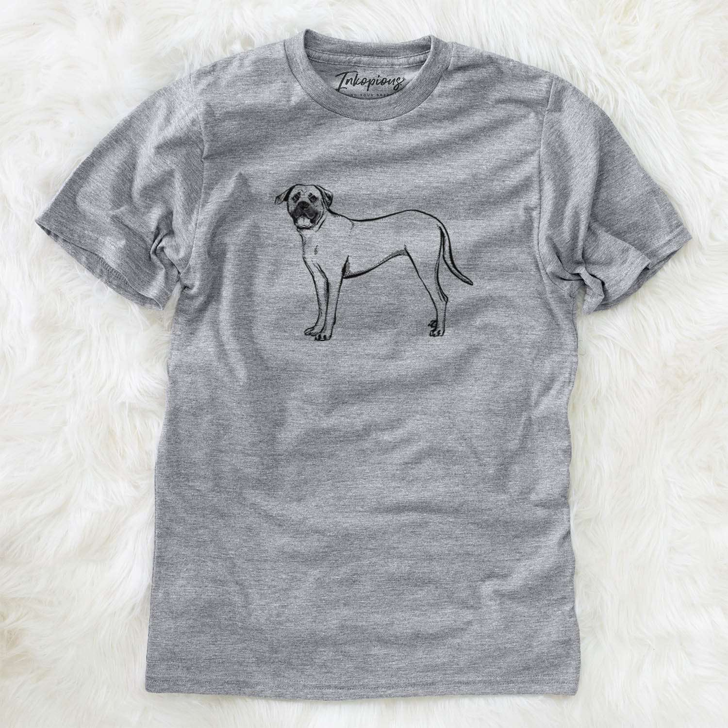 Halftone English Mastiff  - Unisex Crewneck