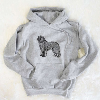Halftone Newfoundland  - Mens Hooded Sweatshirt