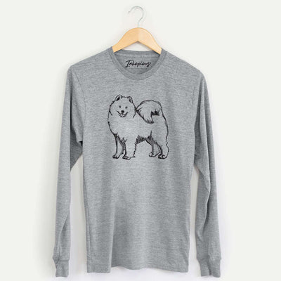 Halftone Samoyed  - Long Sleeve Crewneck