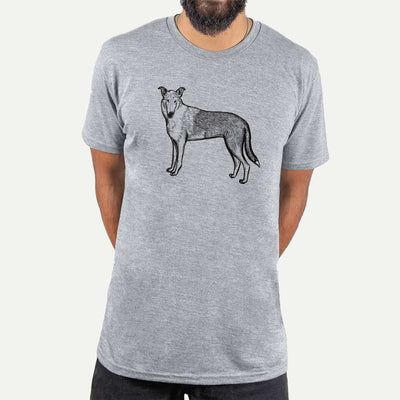 Halftone Smooth Collie  - Unisex Crewneck