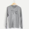 Halftone Yellow Labrador Retriever  - Long Sleeve Crewneck