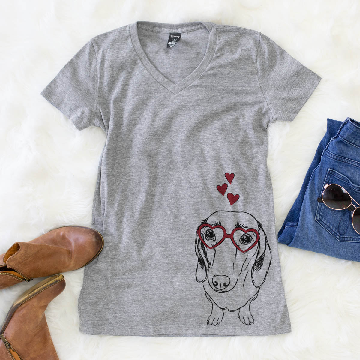Annabelle the Dachshund  - Valentine Collection