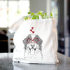 Blaze the Bernese Mountain Dog - Tote Bag