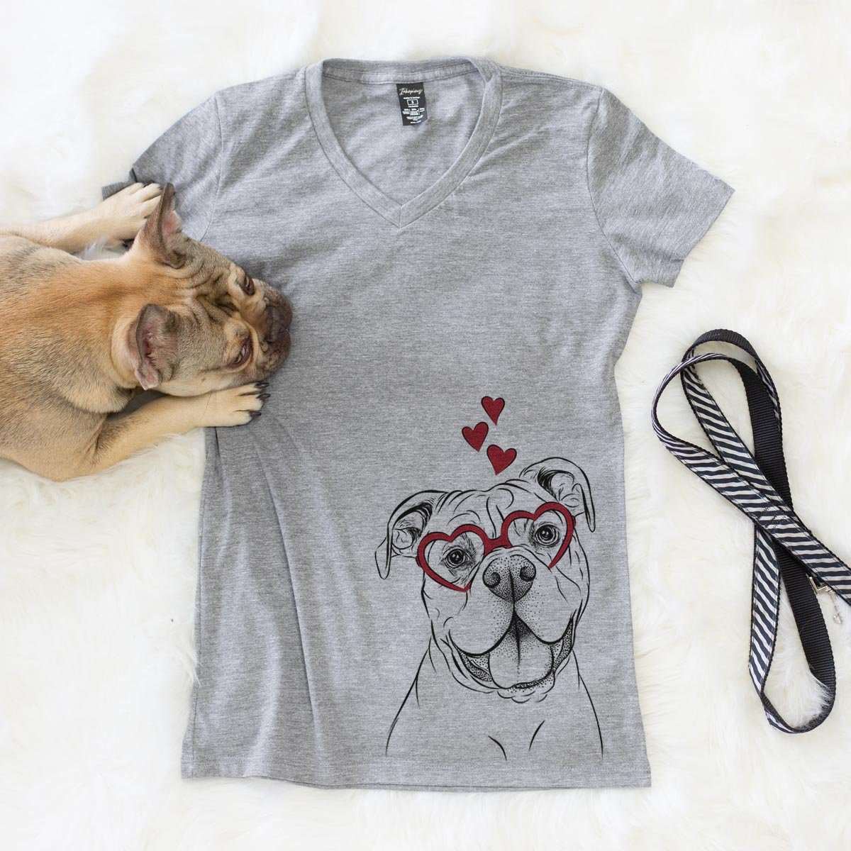 Bravo the Bulldog Mix  - Valentine Collection