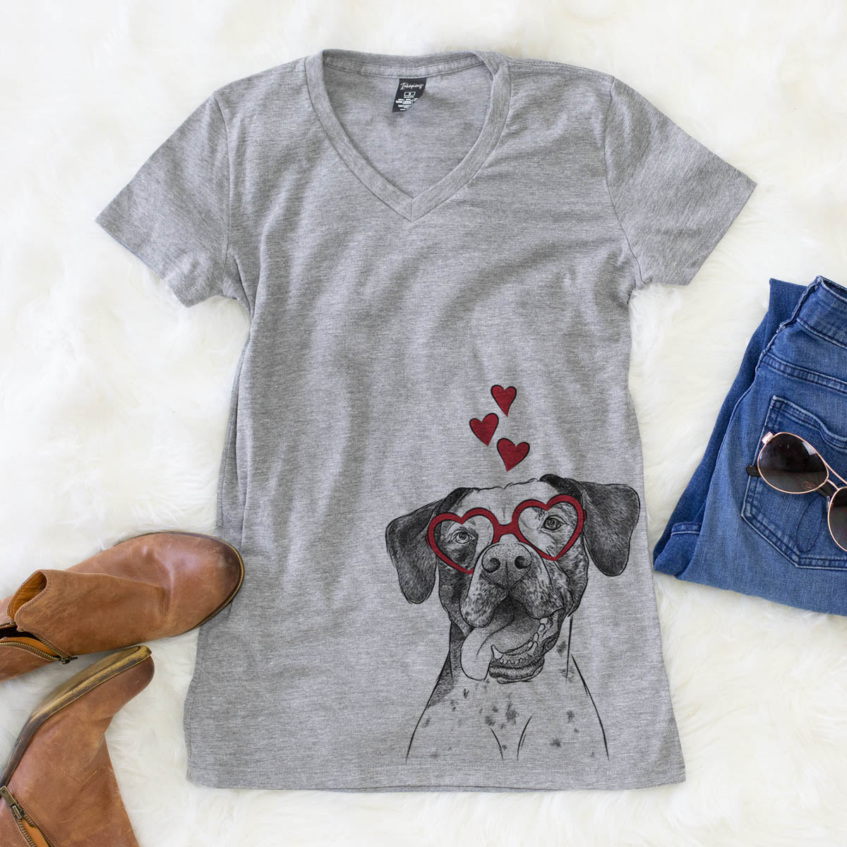 Cola the Catahoula  - Valentine Collection