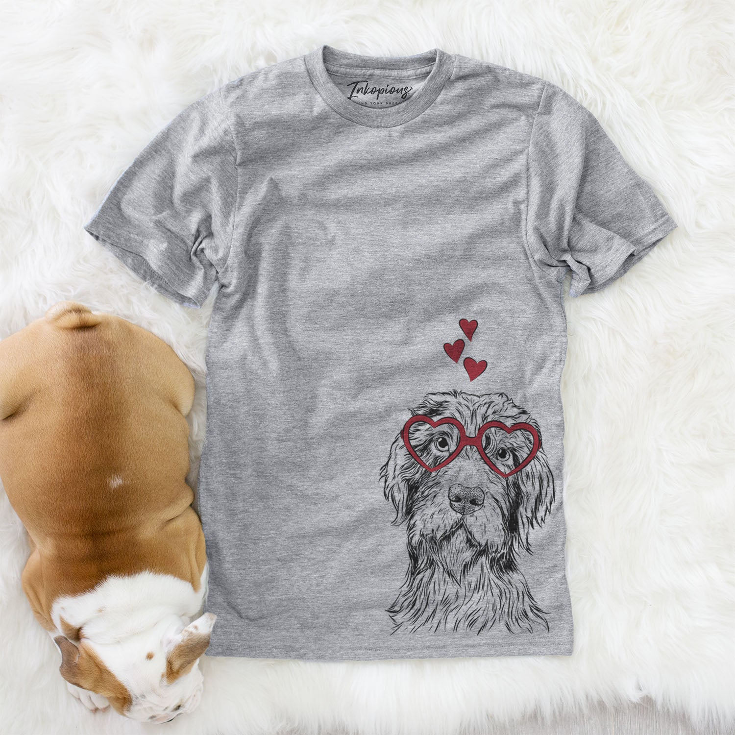 Doc Holliday the Pudelpointer  - Valentine Collection