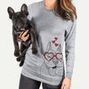 Happy Franco the French Bulldog  - Valentine Collection