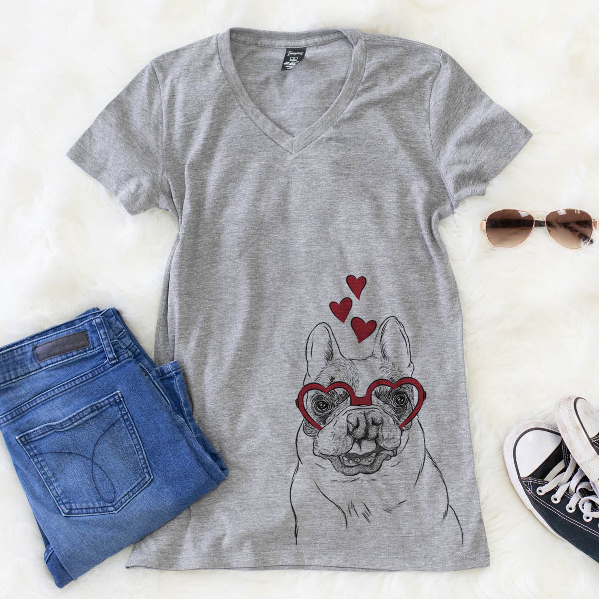 Lentil the French Bulldog  - Valentine Collection