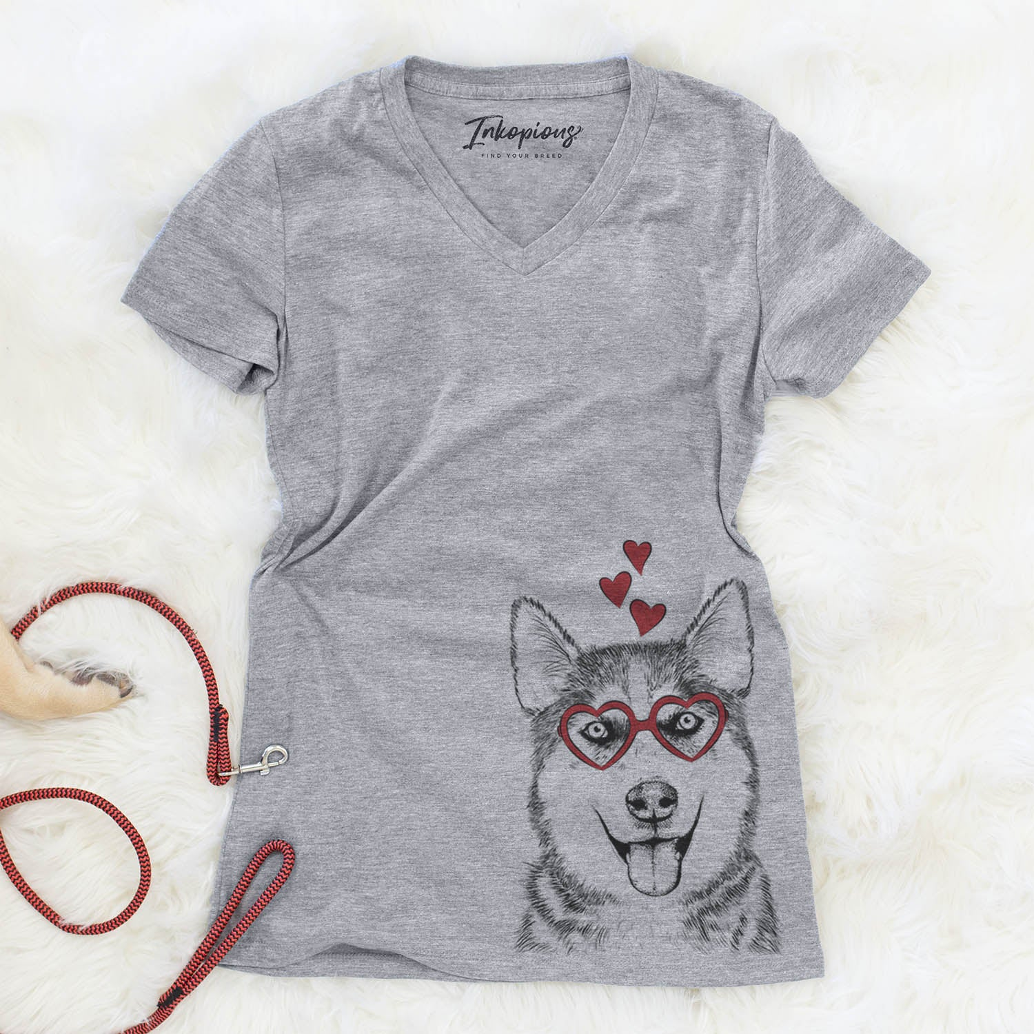 Sesi the Siberian Husky  - Valentine Collection