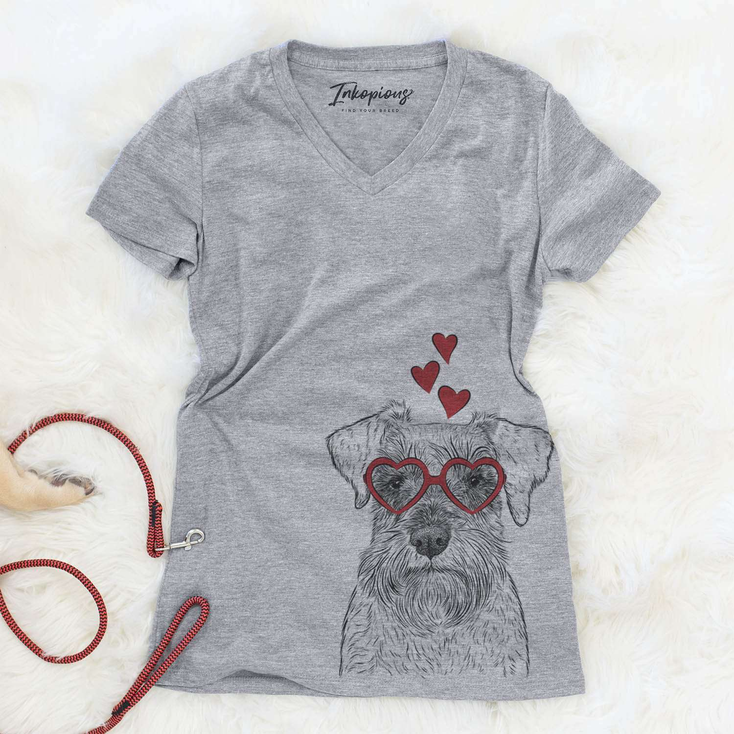 Smokey the Miniature Schnauzer  - Valentine Collection