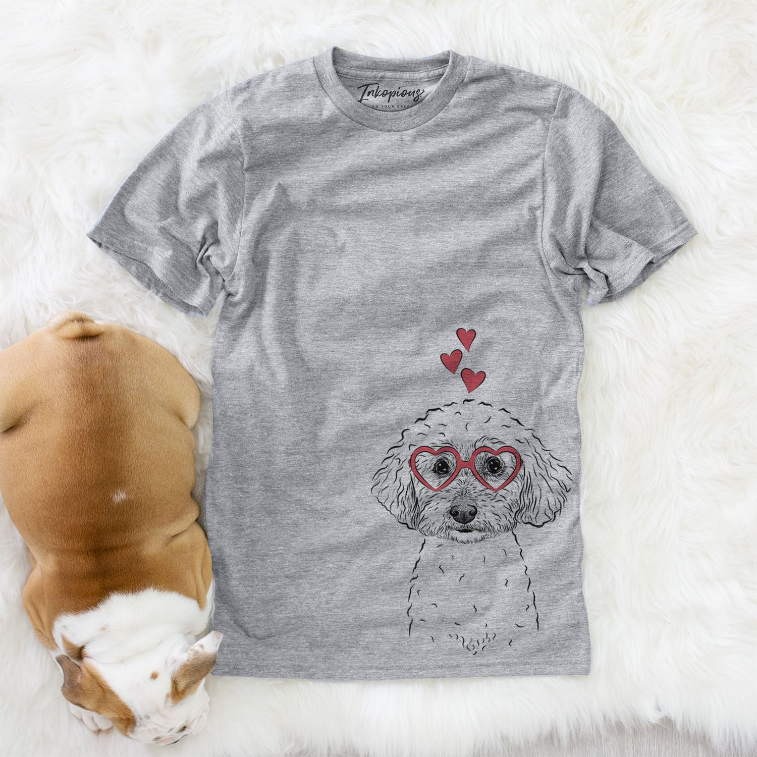 Stitch the Bichonpoo  - Valentine Collection