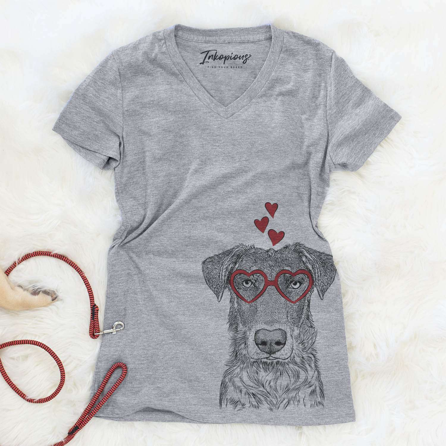 Wesson the Beauceron  - Valentine Collection