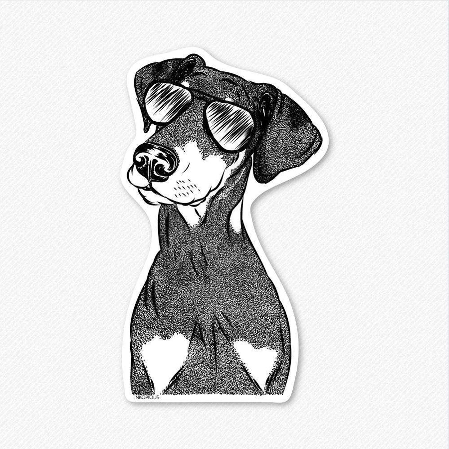 Iroh the Doberman - Decal Sticker