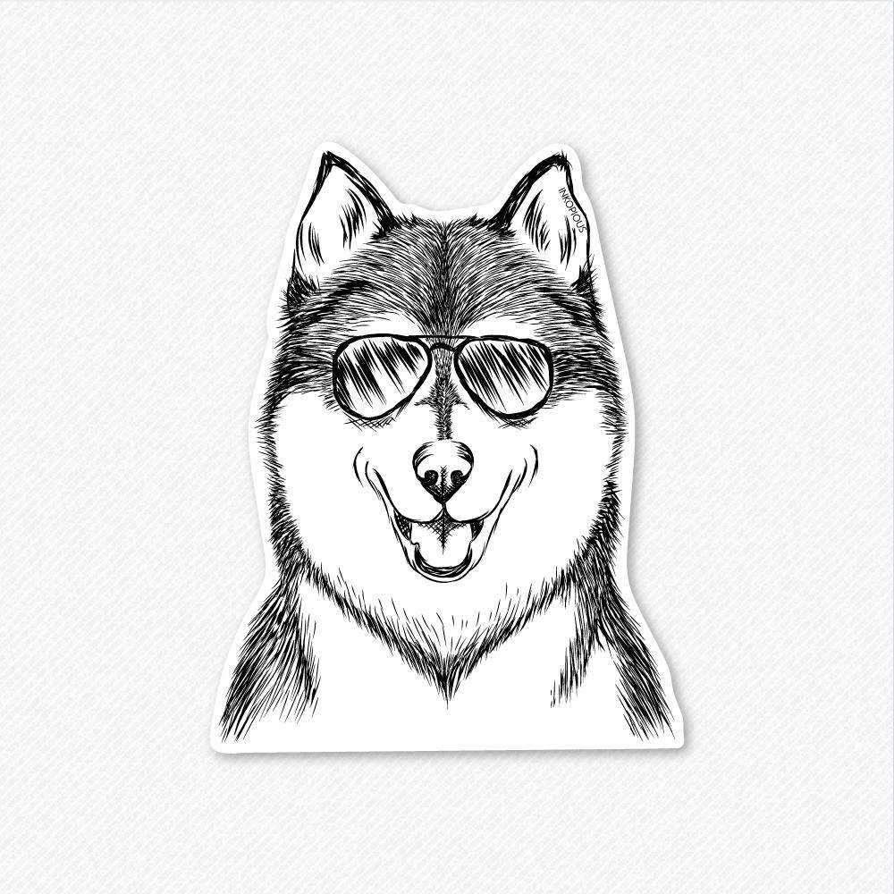 Koda the Husky - Decal Sticker