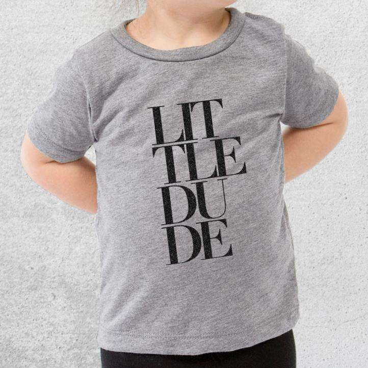 Little Dude Stacked - Kids/Youth/Toddler Shirt