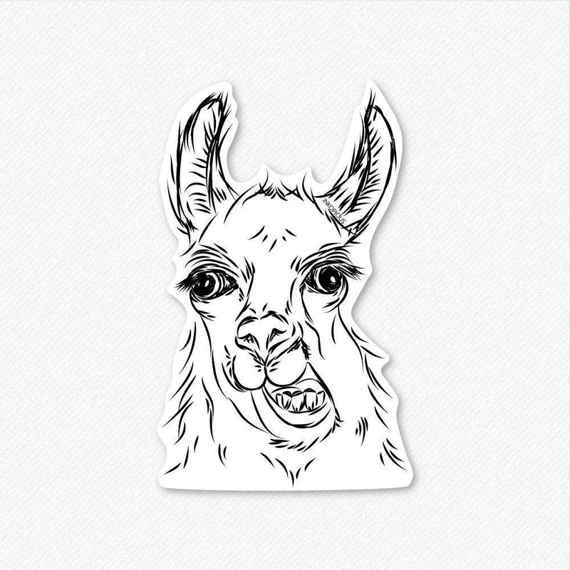 Larry the Llama - Decal Sticker