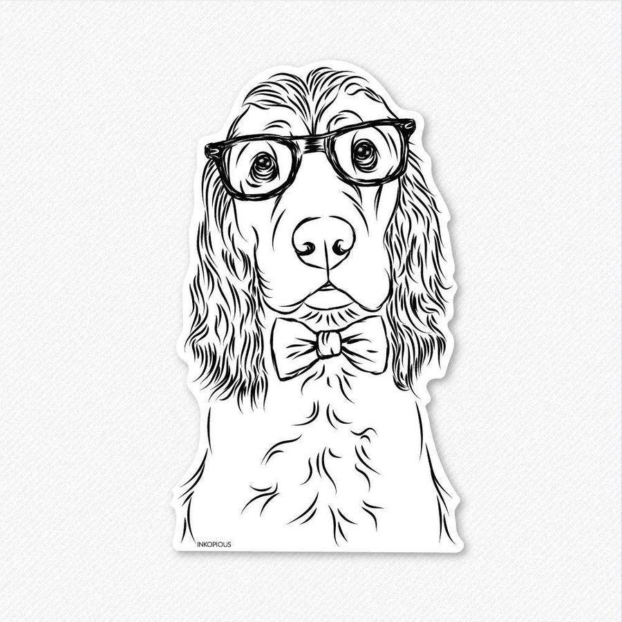 Logan the English Cocker Spaniel - Decal Sticker