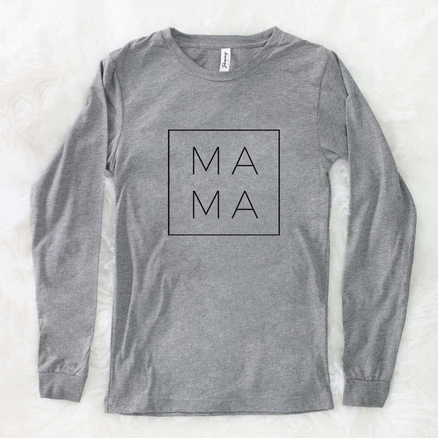 Mama Square - Long Sleeve Crewneck
