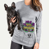 Ally the Jack Russell Terrier  - Mardi Gras Collection