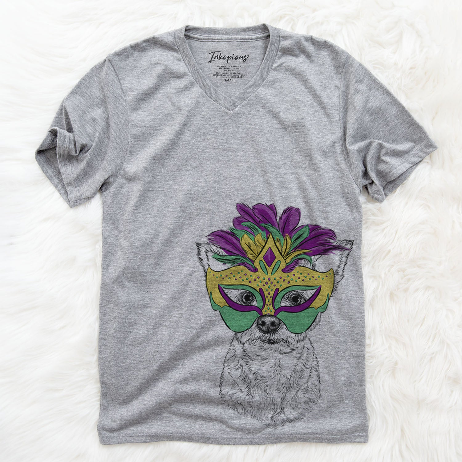 Mango the Mixed Breed  - Mardi Gras Collection