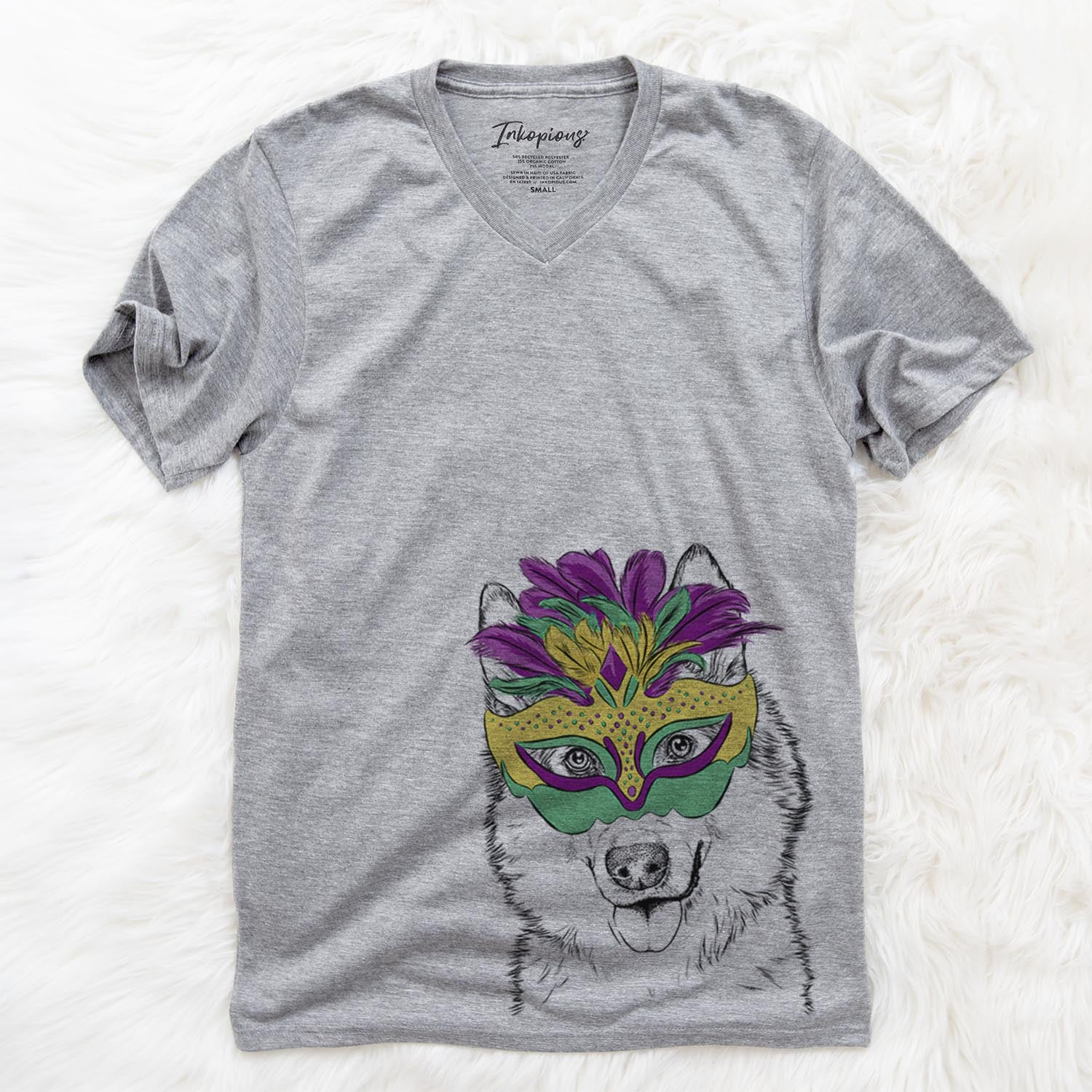Roshi the Mixed Breed  - Mardi Gras Collection