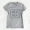 Mama Square - Women's Modern Fit V-neck Shirt