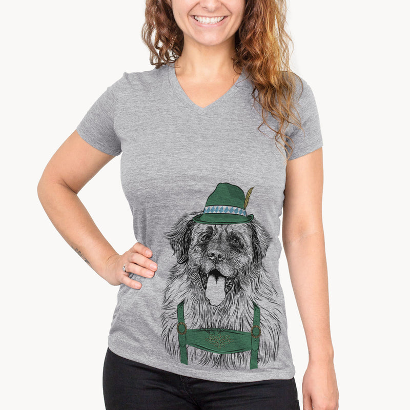 Bamboo the Leonberger  - Oktoberfest Collection