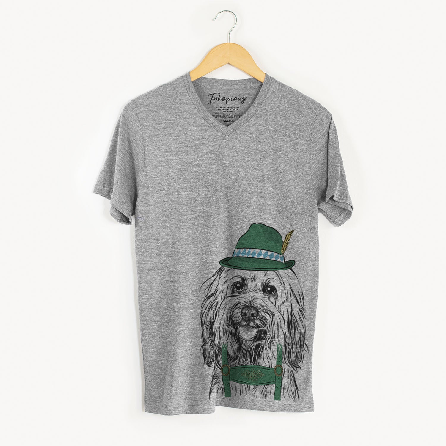 Rime the Tibetan Terrier  - Oktoberfest Collection