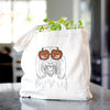 Claude the Coton de Tulear - Tote Bag